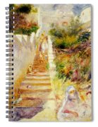 The Steps In Algiers Spiral Notebook