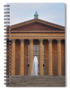 The Steps Of The Philadelphia Museum Of Art Spiral Notebook