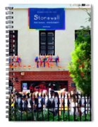The Stonewall Inn National Monument Spiral Notebook