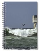 The Storm  Spiral Notebook