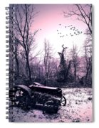 The Straggler...thurston Hollow Pa. Spiral Notebook