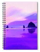 The Strand At Daybreak Spiral Notebook