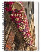 The Street Lamps Spiral Notebook