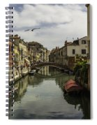 The Streets Of Venice Spiral Notebook