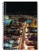 The Strip At Las Vegas,nevada Spiral Notebook