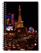 The Strip At Night 2 Spiral Notebook