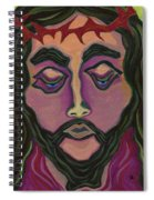 The Suffering King Spiral Notebook