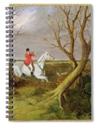 The Suffolk Hunt - Gone Away Spiral Notebook
