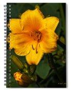 The Summer Blooms Spiral Notebook