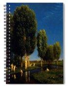 The Summer Day 1881 Spiral Notebook
