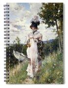 The Summer Stroll Spiral Notebook