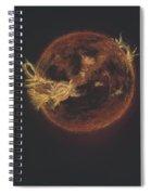 The Sun Spiral Notebook