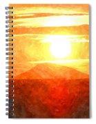 The Sun Dance Spiral Notebook
