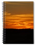The Sun Has Set In Cape Cod Spiral Notebook