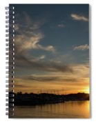 The Sun Sets In Milford Spiral Notebook