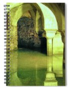 The Sunken Crypt Of San Zaccaria Spiral Notebook