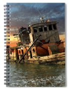 The Sunset Years Of The Mary D. Hume Spiral Notebook