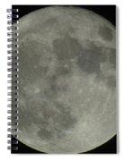 The Super Moon 4 Spiral Notebook