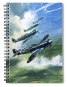 The Supermarine Spitfire Mark Ix Spiral Notebook