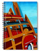 The Surfers Ride Spiral Notebook