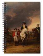 The Surrender Of Lord Cornwallis At Yorktown Spiral Notebook
