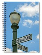 The Sweetest Street Corner In The World Spiral Notebook