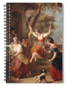 The Swing, 1848 Spiral Notebook