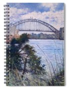 The Sydney Opera House And Harbour Bridge. Australia 2007  Spiral Notebook