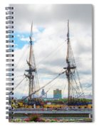 The Tall Ship Hermione - Philadelphia Pa Spiral Notebook
