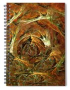 The Tangled Webs We Weave Spiral Notebook