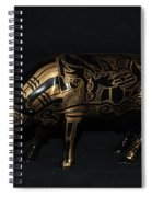 The Tattooed Cow Spiral Notebook
