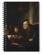The Teacher 1645 Spiral Notebook