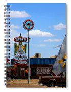The Tee-pee Curios On Route 66 Nm Spiral Notebook