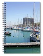 The Tel Aviv Marina  Spiral Notebook