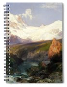 The Teton Range, 1897 Spiral Notebook