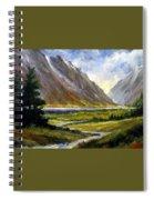 The Tetons 05 Spiral Notebook