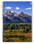 The Tetons II Spiral Notebook