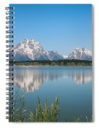 The Tetons On Jackson Lake - Grand Teton National Park Wyoming Spiral Notebook