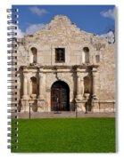 The Texas Alamo Spiral Notebook