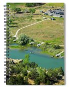 The Texas Hole Spiral Notebook