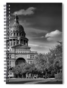 The Texas State Capitol Spiral Notebook