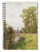 The Thames At Purley Spiral Notebook