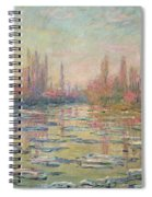 The Thaw On The Seine Spiral Notebook