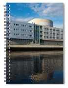 The Theatre Of Oulu 2 Spiral Notebook