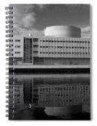 The Theatre Of Oulu  3 Spiral Notebook