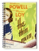 The Thin Man 1934 Spiral Notebook
