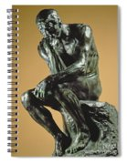 The Thinker Spiral Notebook