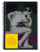 The Thinker - El Pensador Spiral Notebook