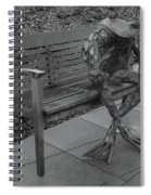 The Thinking Frog Spiral Notebook