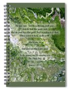 The Third Day With Scripture Spiral Notebook
